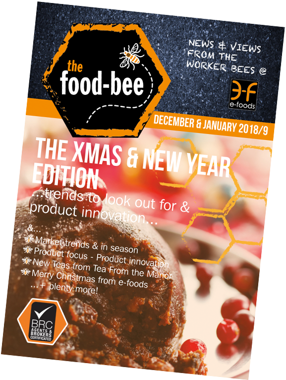December & January 2018/9 edition of The Food Bee