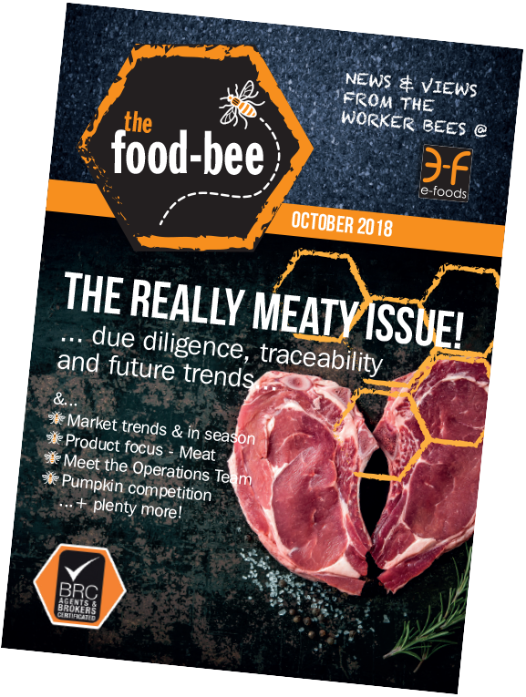 October 2018's edition of The Food Bee