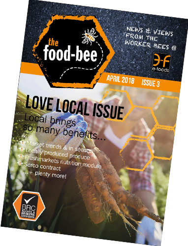 April 2018's edition of The Food-Bee