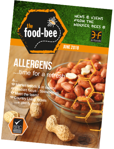 June 2018's edition of The Food Bee