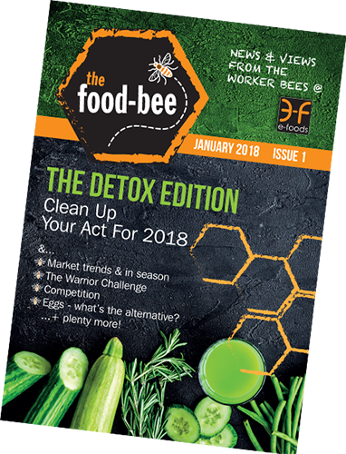 January 2018's all new look Food-Bee!