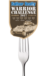 e-foods - proud sponsor of the Balfour Beatty Warrior Challenge 2017!