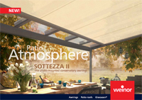 Conservatory Awnings - Weinor Sottezze II Brochure