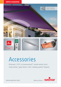 Weinor Accessories Brochure