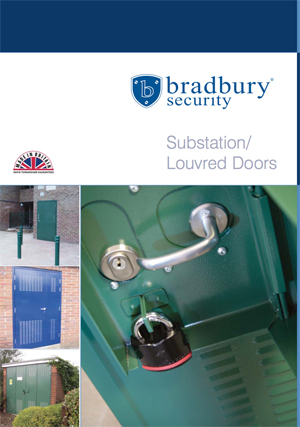 Substation Louvered Doors