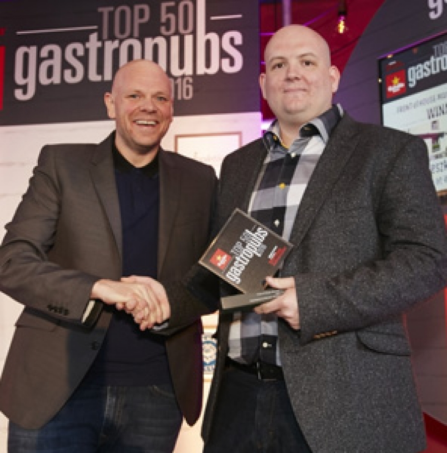 The Freemasons at Wiswell has retained its sixth place spot in the Estrella Damm Top 50 Gastropubs Awards 2016, while Agnieszka Tyczka, the pub's Fron