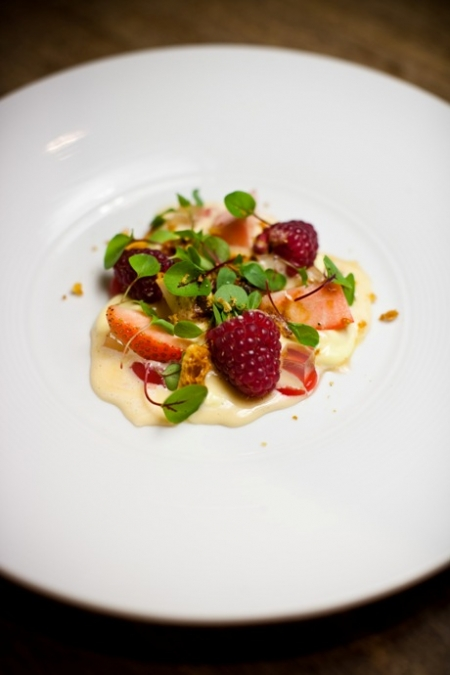 Red Berries, Champagne Jelly, Saboyon
