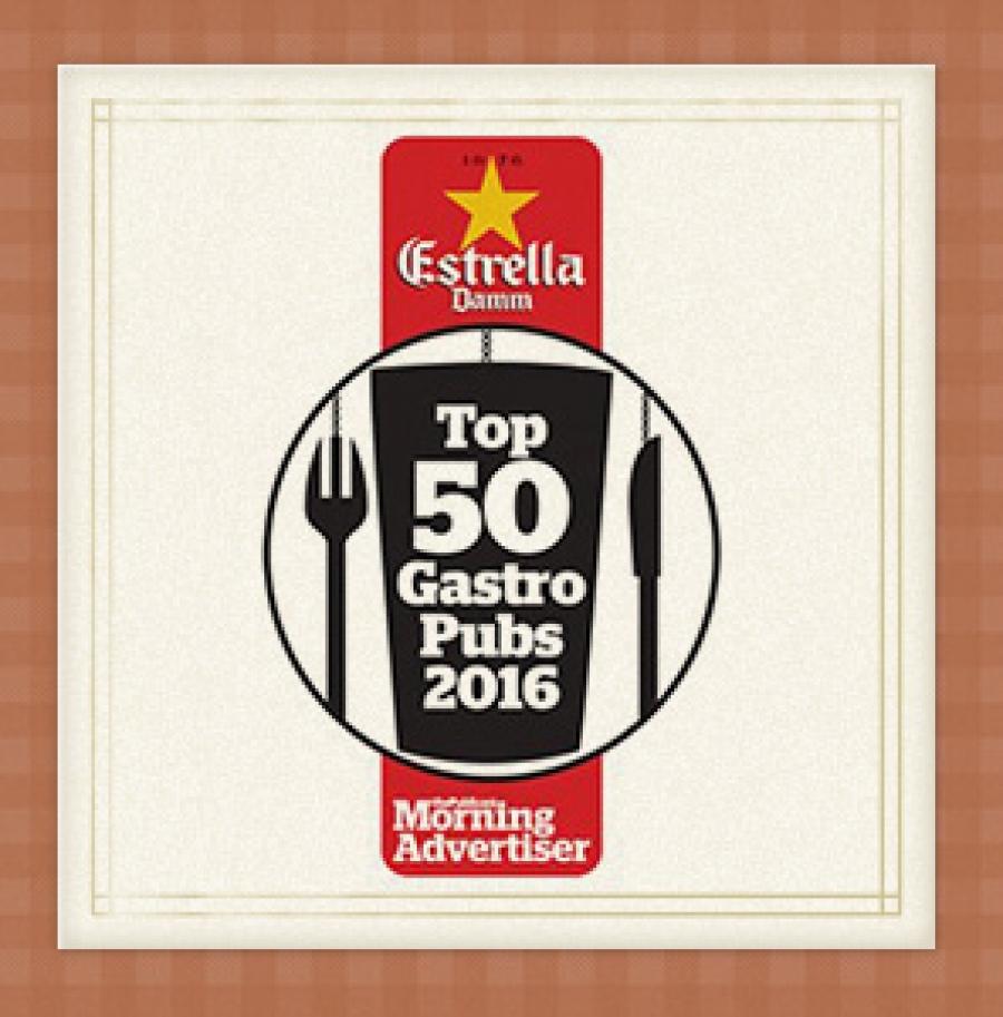 Freemasons comes 6th at the Top 50 Gastropub Awards
