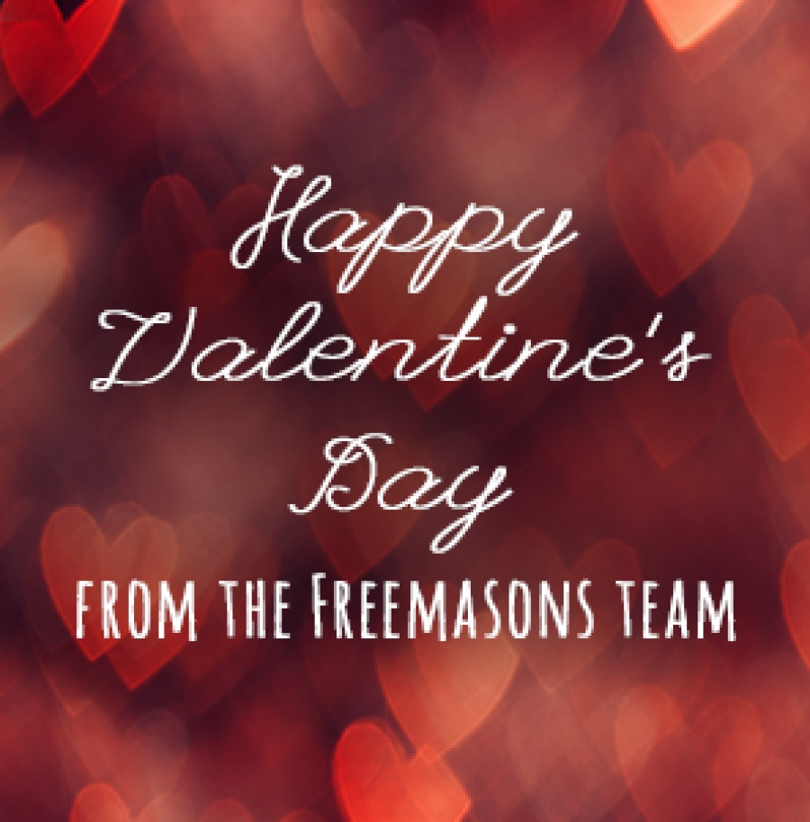 Get a taste for Valentine's Day at Freemasons